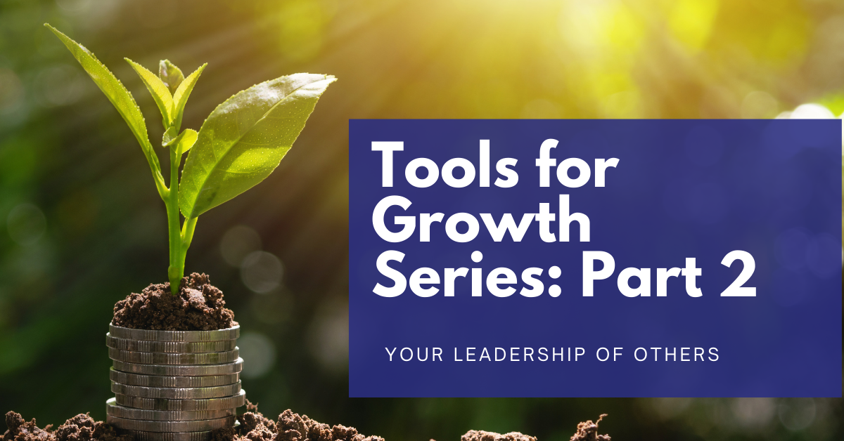 You are currently viewing Tools for Growth Series: Part 2 – Your LEADERSHIP of others
